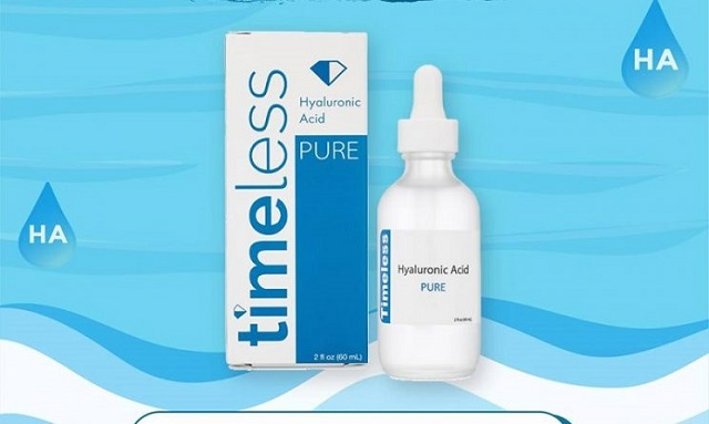 Timeless Hyaluronic Acid 100% Pure